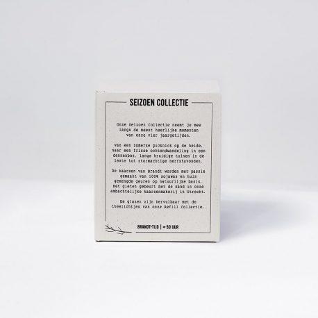 Sojakaarsen Seizoen Collectie Doosje Achterkant